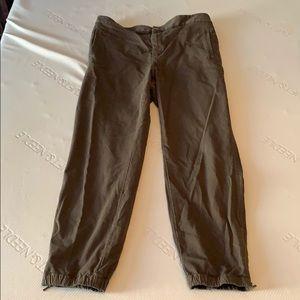 Lou & Grey womens jogger style pant